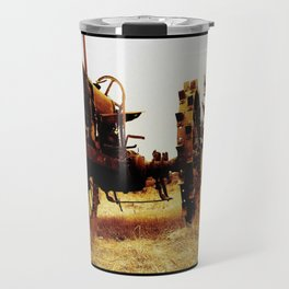 Metal Tractor Travel Mug