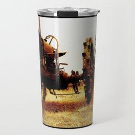 Metal Tractor Travel Mug