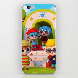 Turtle Boy's Gang iPhone Skin