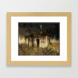 Smokehouse  Framed Art Print