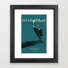 Sleaford Mods Framed Art Print