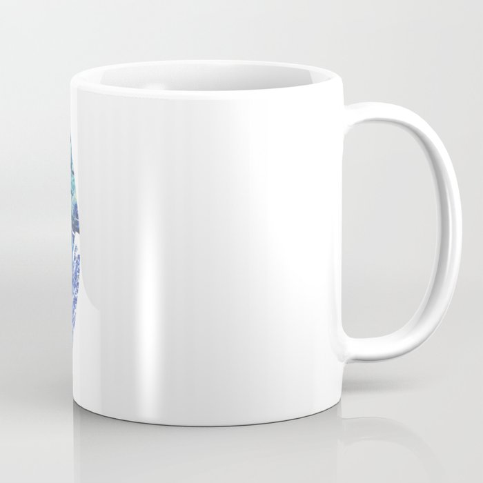 Vinyl abstract Coffee Mug