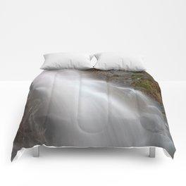 Jones Run Falls Comforters