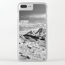 White Pocket 2 Clear iPhone Case