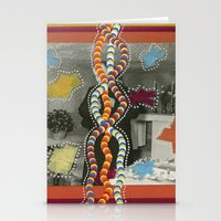 dna Stationery Cards featuring DNA by Naomi Vona