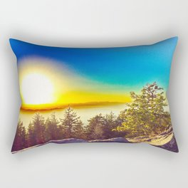 Oregon Wasteland Rectangular Pillow