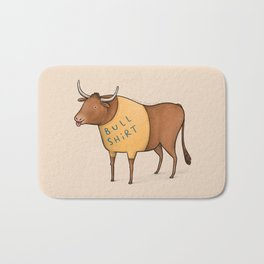 Bull Shirt Bath Mat
