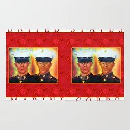 Like Father, Like Son... Once A Marine, Always A Marine Rug