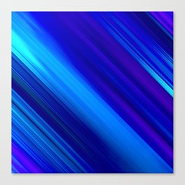 Abstract watercolor colorful lines painting Canvas Print