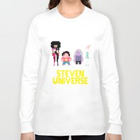 steven universe Long Sleeve T-shirts featuring Steven Universe by NeleVdM