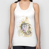 wooden Tank Tops featuring Wooden Hopes. by BrittanyJanet Illustration & Photography