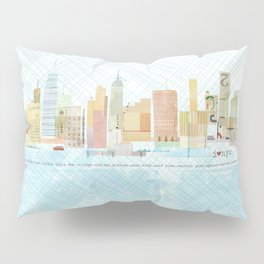 I love NYC Pillow Sham