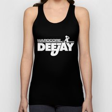 Hardcore DeeJay Music Quote Unisex Tank Top