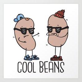 Cool Beans Art Print