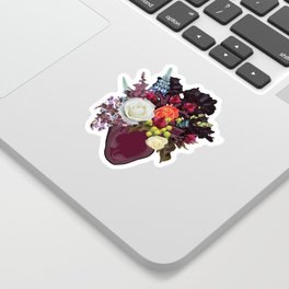Anatomical Floral 2 Sticker