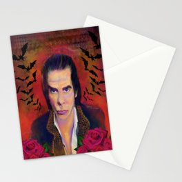 Nick Cave and Blood Roses Stationery Cards