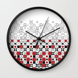 worn off Wall Clock