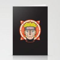 naruto Stationery Cards featuring Mecha Naruto by Enrique Valles