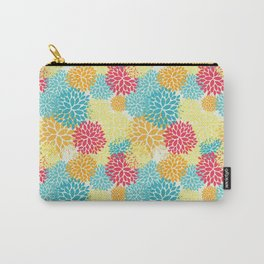 Floral seamless pattern, looks like fantasy flowers Carry-All Pouch