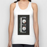 targaryen Tank Tops featuring cassette classic mix by neutrone