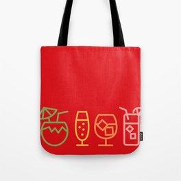 tiki bar happy hour Tote Bag