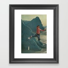 Crush Framed Art Print