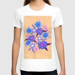 Butter Blue Blooms T-shirt