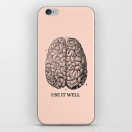 Use it well iPhone Skin