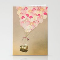 never stop exploring Stationery Cards featuring NEVER STOP EXPLORING V by Monika Strigel