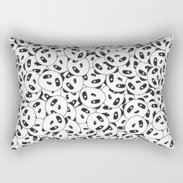 Pandamonium (Patterns Please) Rectangular Pillow