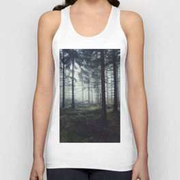 Through The Trees Unisex Tank Top