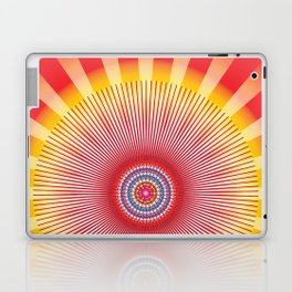 Sun Mandala - מנדלה שמש נצחית Laptop & iPad Skin