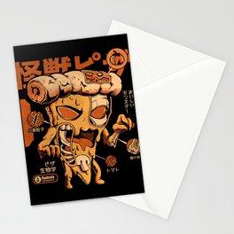 Pizzazilla X-ray Stationery Cards