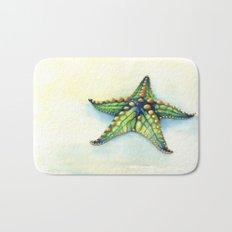 Horned Sea Star Bath Mat