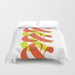 Colorful Ampersand Duvet Cover