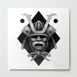 Kabuto Metal Print