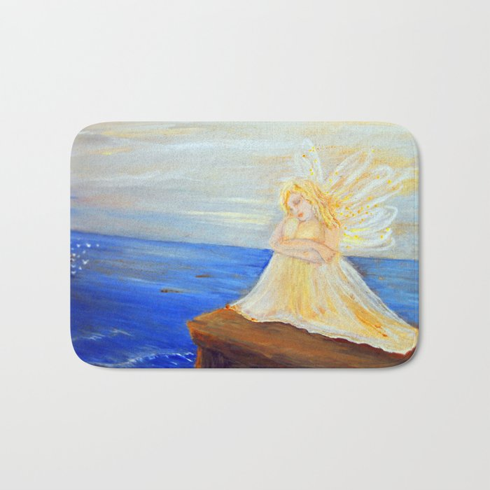 Invite your Angel | Angels are here Bath Mat