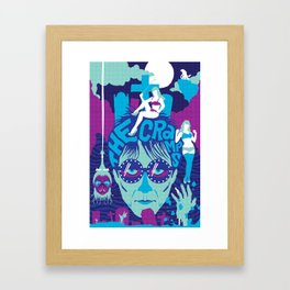 THE ROOTS OF HORROR ROCK :: THE CRAMPS Framed Art Print