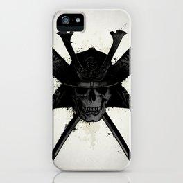 Samurai Skull iPhone Case