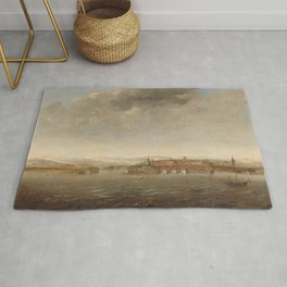 View of Cochin on the Malabar Rug