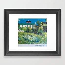 Daubigny's Garden (Van Gogh) Framed Art Print