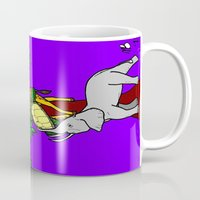 safari Mugs featuring Safari by Madame Mim