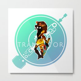 Transister's Little Red Metal Print
