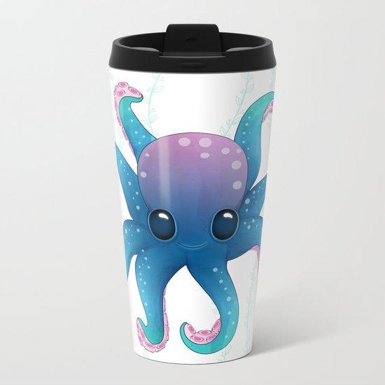 Octopus friend Metal Travel Mug