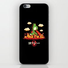 Yoshzilla iPhone & iPod Skin