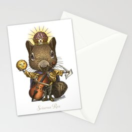 King of Squirrels Stationery Cards