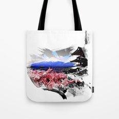 Japan - Fuji Tote Bag