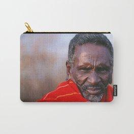 African Maasai Elder Carry-All Pouch