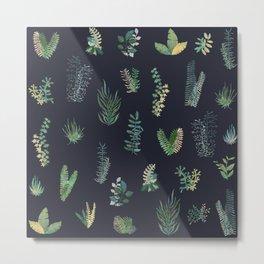 green garden at nigth best version Metal Print