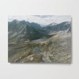 Mackenzie Mountains Metal Print
